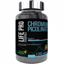 Life Pro Essentials Chromium Picolinate 120 caps