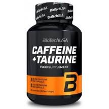 BioTechUSA Caffeine + Taurine 60 caps
