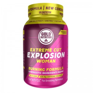 GoldNutrition Extreme Cut Explosion Woman 90 V-CAPS