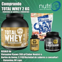 PACK BLACK FRIDAY TOTAL WHEY 2 KG+REGALO A ELEGIR