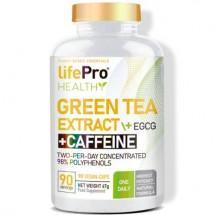 LIFE PRO GREEN TEA + EGCG + CAFFEINE 90 VEGANCAPS 98% POLYPHENOLS