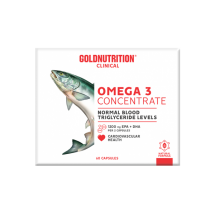 GoldNutrition Omega 3 Concentrate 60 caps