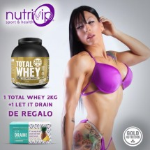 TOTAL WHEY 2 KG+1 LET IT DRAIN DE REGALO!!!
