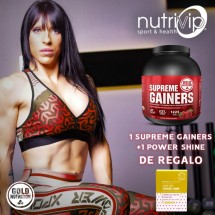 SUPREME GAINERS 3 KG+1 POWER SHINE DE REGALO!!
