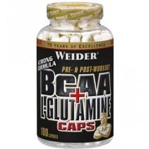 Bcaa+L-Glutamina 180 Caps