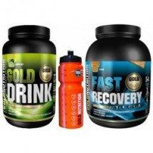 Pack GoldNutrition Gold Drink 1 kg + Fast Recovery 1 kg