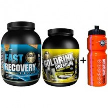 Pack Fast Recovery 1 kg + Gold Drink Premium 750 gr + Bidón 800 ml