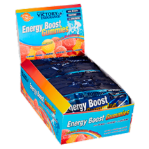 Energy Boost Gummies. 12x64 gr