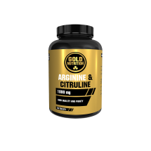 GOLD NUTRITION ARGININE & CITRULINE 1000mg - 100 tabs