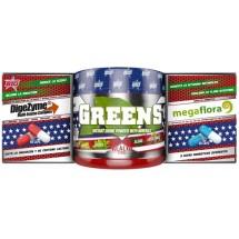 BIG Pack DI G PRO Greens 150 gr + Probiotico 60 caps + Digezyme 60 caps