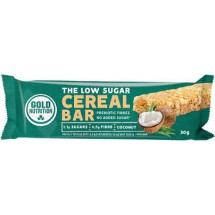 GOLD NUTRITION THE LOW SUGAR CEREAL BAR - 30g
